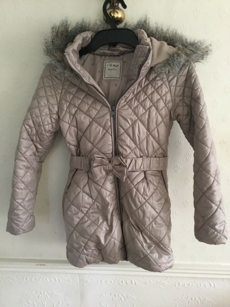 Girls Next winter coat age 9-10 years old