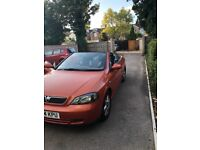 Vauxhall Astra convertible for sale, 49,000 miles