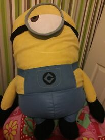 Large minion plush/teddy/cuddly over 1metre tall