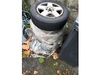 Vw golf mk4 alloys 5x100
