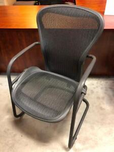 Herman Miller Aeron Guest Chairs - Black - $175