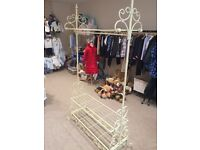 Shabby Chic clothes rails