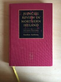 Judicial Review in NI Gordon Anthony