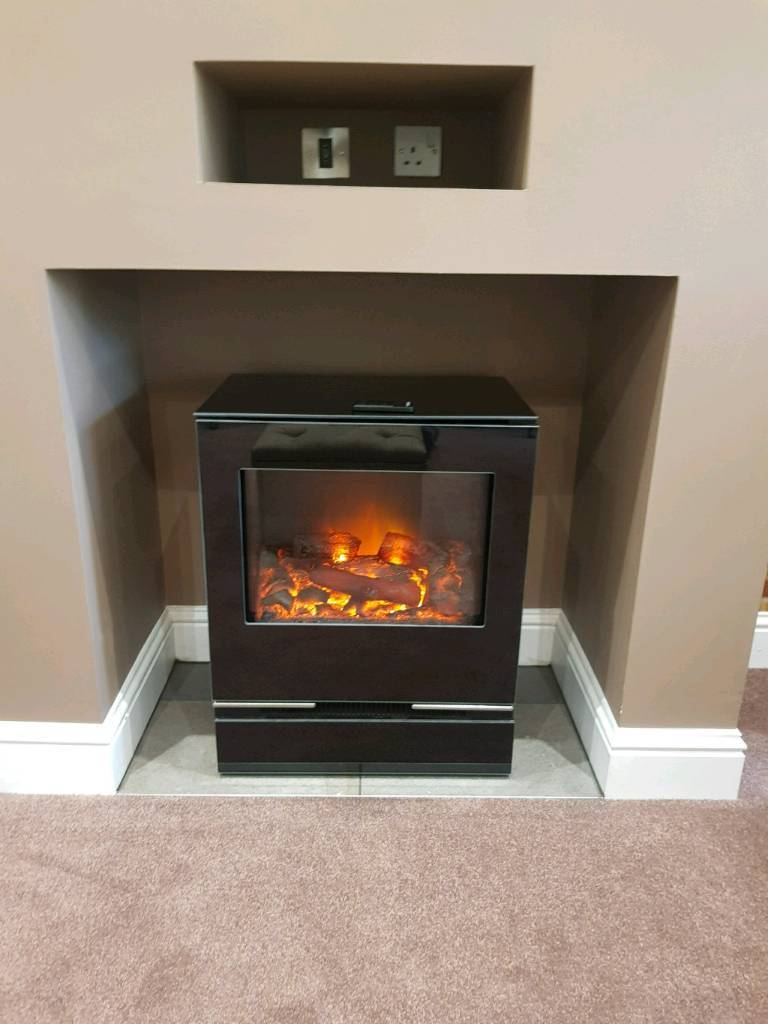Electric Stove Fire Gazco Riva Vision In Motherwell