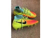 Nike Magista Obra sock boots size 5