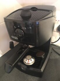 Delunghi espresso machine Used but in good working condition