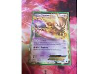 Pokemon Mewtwo EX