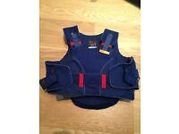 Horse Riding Accessories - 2 Helmets, One Body Protector and One Pair of Riding Boots