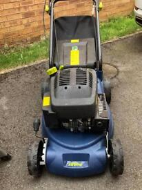 Challenger Xtreme petrol lawnmower with accelerator. (Not working) only used once