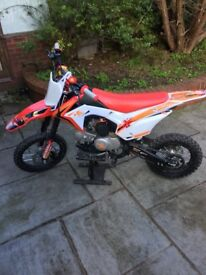 Mbc yx 125 pitbike not stomp 140 160 demon pit bike