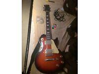 Rockburn Les Paul Style Guitar