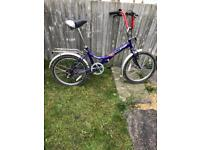 Challenge folding bike