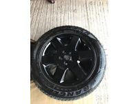 Black 19 Inch Discovery 3 HSE Alloys with Tyres