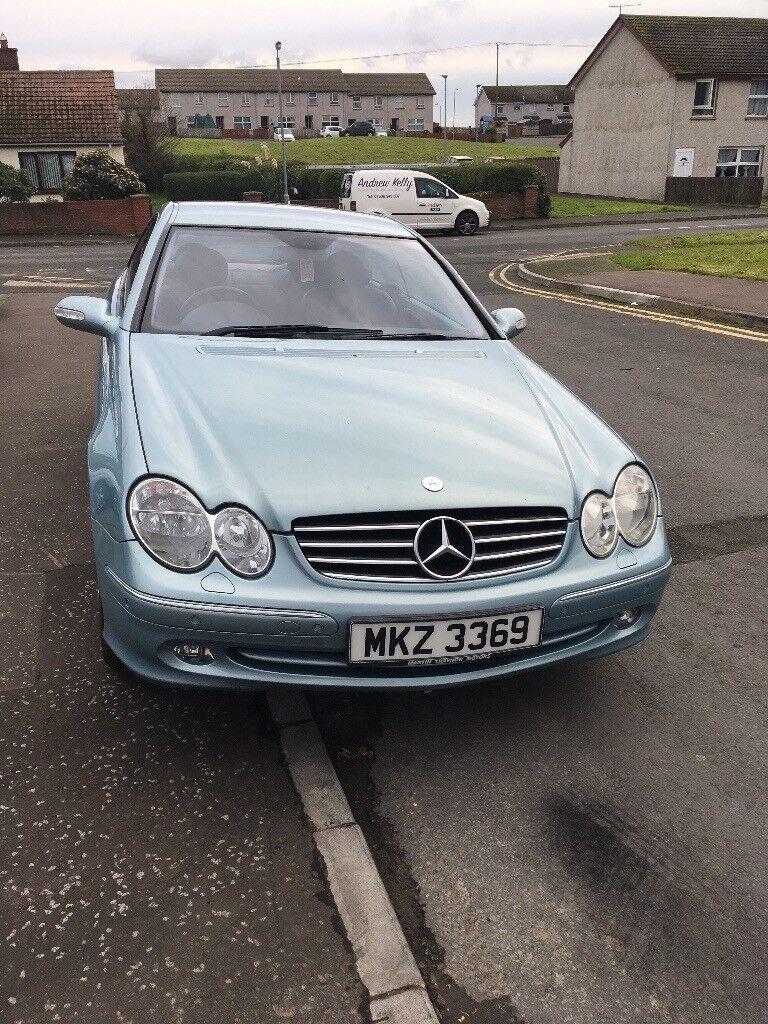 2003 Mercedes clk 200 komp Avantgarde auto
