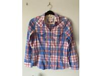 Checked Blue and Pink Shirt