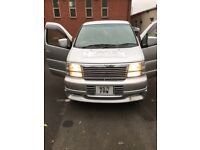1998 NISSAN ELGRAND DIESEL AUTOMATIC. Drives perfectly. Clean inside and out.