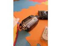 JVC Everio camcorder (GZ-MG135AG) & DVD burner