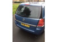 2008 AUTOMATIC VAUXHALL ZAFIRA/ DIESEL VERY CLEAN