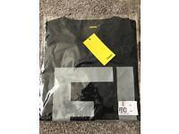 Brand New men's Fendi Tshirt navy large