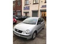 Volkswagen polo 1.4 petrol 5 doors hatchback 5 seater family car 2003 53 plate