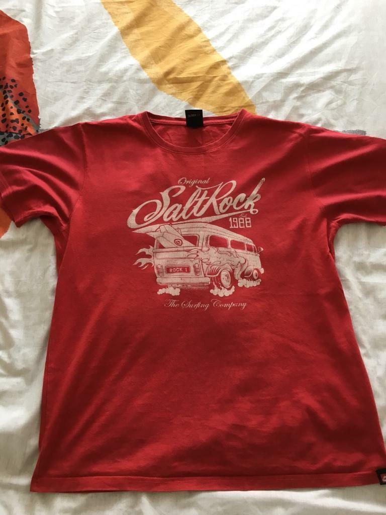 Three Saltrock men's t-shirt