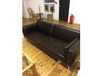 IKEA brown sofa large