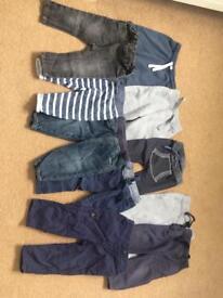 Baby boy bundle 9-12m