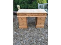 SOLID PINE DESK, FREE DELIVERY
