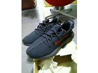 Yeezy boost 350 v2 black red CP9652