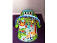 Fisher price kick and play piano gym Excellent condition £20