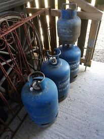 GAS BOTTLES CALOR FULL BOTTLES