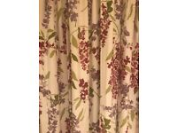 PENCIL PLEAT CURTAINS DROP = 198 cm WIDTH = 167 cm