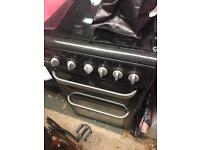 Gas double hotpoint oven