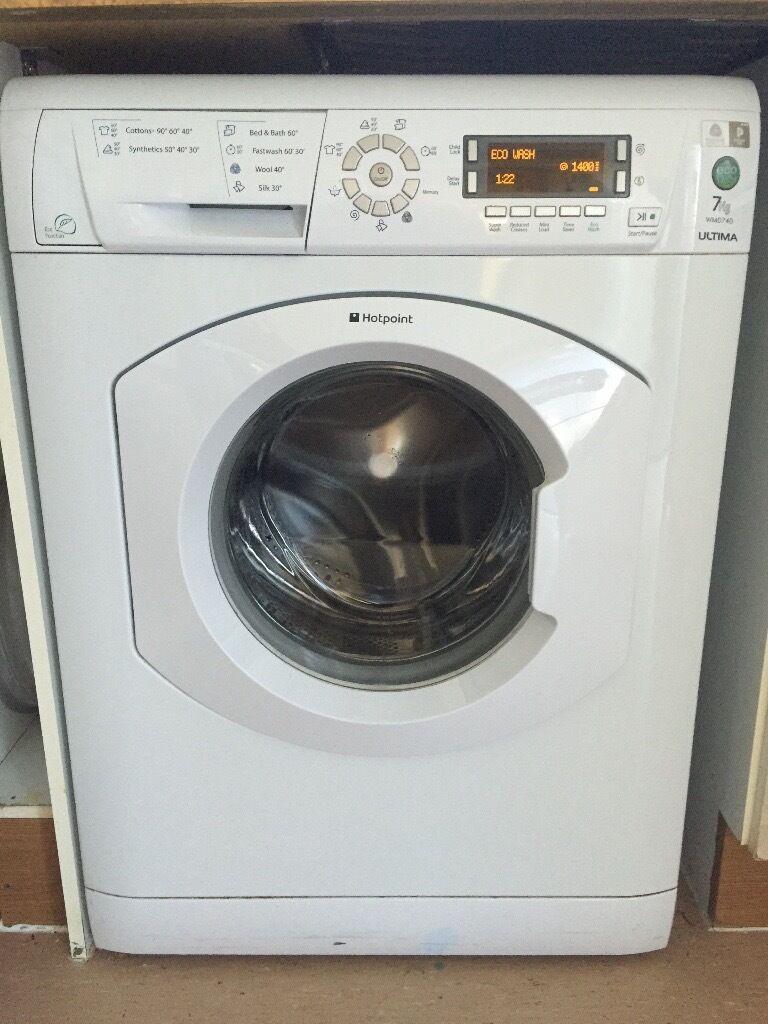 Reduced Hotpoint 7kg Wmd740 Washing Machine Buyer