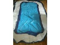 Large oblong pool aboout 10x5 cost £100.00 acept £15.00