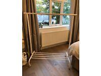 Free ikea clothes rail
