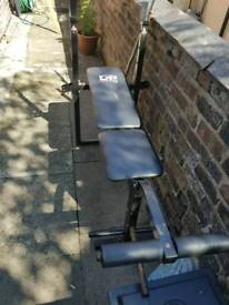 Weight bench and set