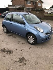 NISSAN MICRA 1.2, 48K GENUINE LOW MILEAGE, MOT MAY 2019