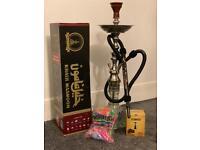 Khalil mamoon shisha - free coal and mouthtips