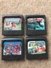 X4 game gear games for sale