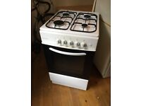 Cookworks Gas Cooker Oven Hob Less than 1 yr old