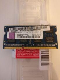 Kingston 4GB DDR3 PC3-10600 SODIMM for laptops (single stick)