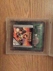 Tomb Raider - Gameboy Colour Game - Mint / without box