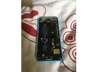 iPhone 5C blue shell & parts