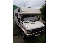 1989 talbot express merlin motorhome full mot 4 berth