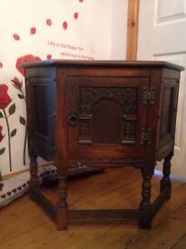 Old charm antique unit cabinet