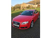 Audi A4 S Line 2litre TDI. One lady teacher owner. Immaculate condition throughout.