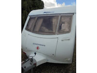 2006 Coachman Wanderer 19 - 4 Berth Twin Axle Touring Caravan With Dinette And Rear Washroom
