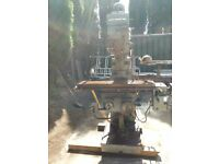 GATE DUTY MILLING MACHINE