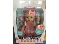 Luvabella blonde doll brand new